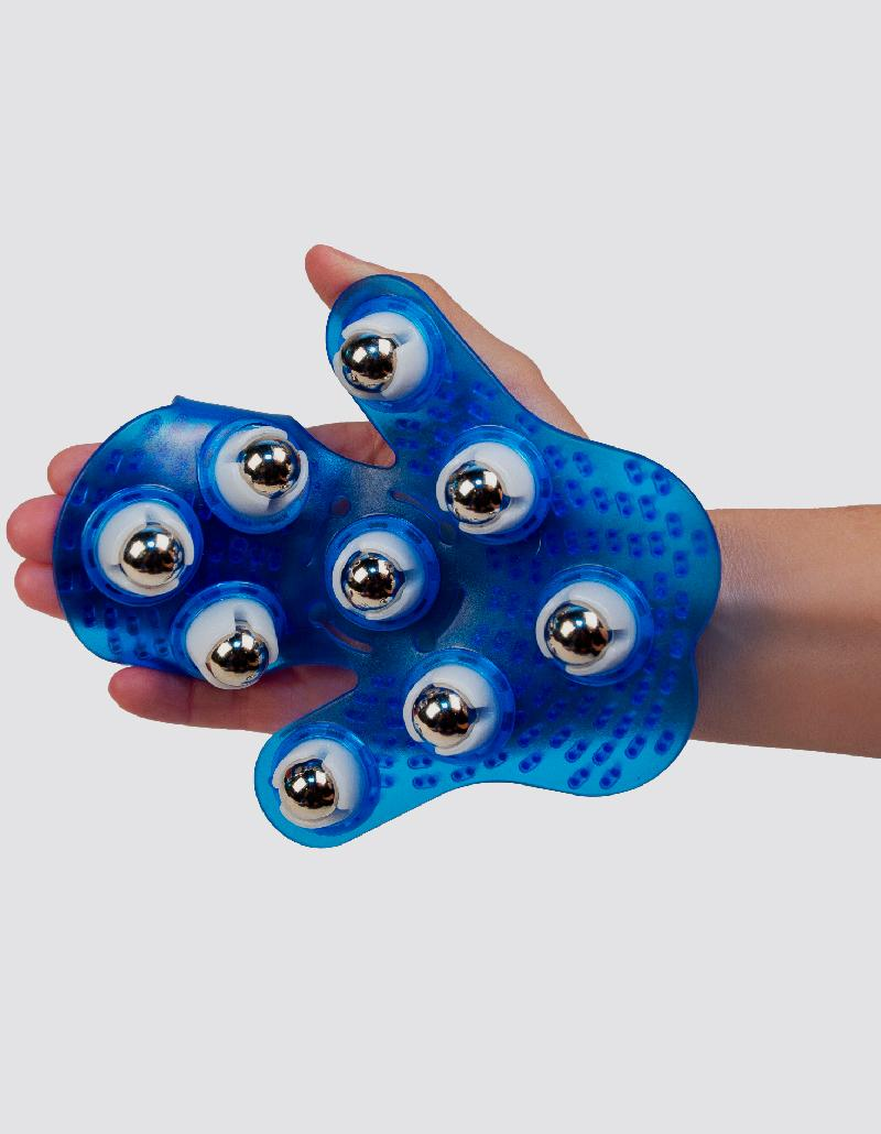 Body Roller Ball Anti-Cellulite Muscle Relax Massage Glove